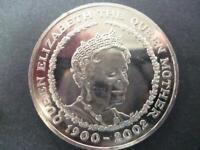 2002 £5 COIN (CROWN) QUEEN MOTHER MEMORIAL. 2002 QUEEN MUM FIVE POUNDS COIN.