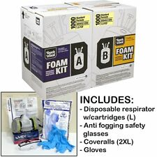 Touch n' Seal U2 1000BF FR Spray Foam Insulation Kit - w/Protective Gear (Large)