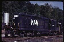 35mm slide N&W/NW Norfolk and Western Railway EMD GP18 944 Cincinnati OH USA1980