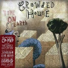 CROWDED HOUSE - TIME ON EARTH [BONUS DVD] NEW CD