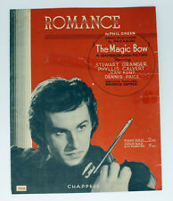 SHEET MUSIC, ROMANCE from THE MAGIC BOW (STEWART GRANGER), PHIL GREEN, 1946