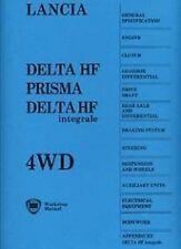 LANCIA Delta Integrale 1987 Shop Manual Includes Evo1 & 2 Catalogue Paper Book