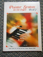 Old Vintage 1967 Learn to Play Pointer System for the Organ Book 2 Chord Melodys