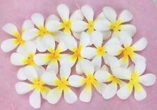 Fabric White Scrapbooking Flower Embellishments