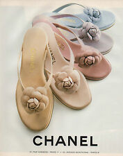 Publicité Advertising 1998  CHANEL chaussure vetement collection mode