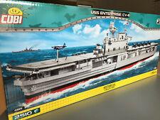 USS Enterprise Flugzeugträger COBI 4815 Maßstab 1:300 NEUHEIT ! 2510 Bausteine !