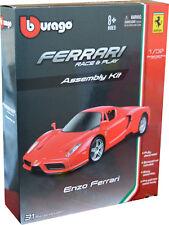 FERRARI ENZO 1:32 scale KIT Model Diecast Car Metal Burago Ferrari Models Toy
