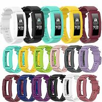 TPE Wristband Watch Bracelet Strap Band for Fitbit inspire /inspire HR /ACE2