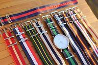 Nylon Watch Strap Band 20mm Alternative to DW Weekender Straps