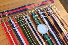 10 Nylon Watch Straps / Daniel Wellington Timex Weekender Slip Through Strap