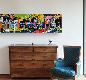 cyprus-paralimni-graffiti-WALL ARTS SCENERY  high quality Canvas home decor