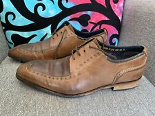 Goodwin Smith Mens Brown Leather Brogues Size 9