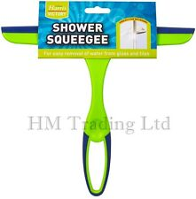 Harris Glass Window Tile Mirror Shower Squeegee Soap Wipe Cleaner Rubber Blade