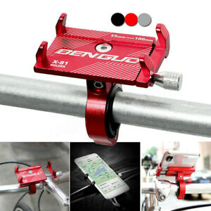 Aluminum Bike Bicycle Handlebar Mount Holder Stable Stand For Cell Phone GPS