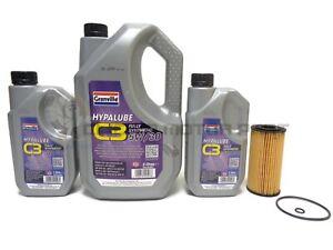 Oil Filter & 7L Engine Oil Service Kit For Hyundai Santa Fe 2.2 CRDi Mk2 09-13
