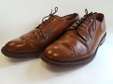 Church s Tan Brown Polished Vintage Leather Shannon Derby Shoes Size 75 F  Rare b448ad5f425
