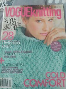 Vogue Knitting International Holiday 2014