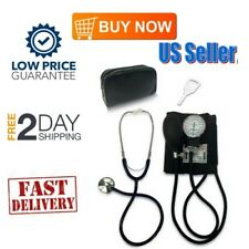 Adult Manual Blood Pressure Monitor with Stethoscope for Perfect Health Kit BLK