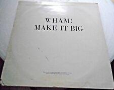 """Wham! 12"""" Vinyl Album Make it Big"""