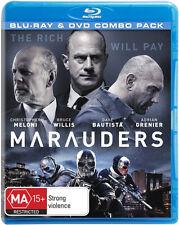 Marauders (Blu-ray/DVD)  - BLU-RAY - NEW Region B