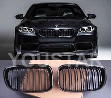 US STOCK X2 M5 PERFORMANCE GLOSS BLACK GRILLS BMW 5 Series F07 GT Gran Tourismo