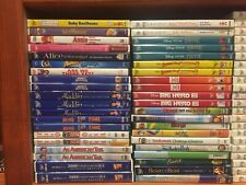 249 Disney Children Movie DVD Lot- Pick and Choose- Order more and Save!- Kids