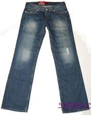 Levis 557 Eve Jeans W28 L32 NEU Damen Hose Destroyed Style Denim Blau Used Gr.36