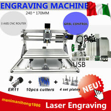 CNC Router 2417 3 Axis DIY Desktop Laser Engraving Macchina Incisore Cutter DHL