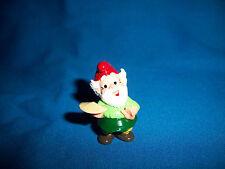 Kitchen Gnomes Set of 10 Plastic Figurines Kinder Surprise Zwerge Lupin Figures