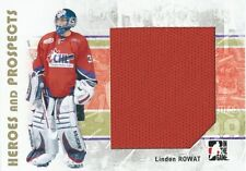 (HCW) 2007-08 ITG Heroes and Prospects LINDEN ROWAT TP Jersey 02307