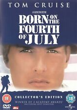 Born On The 4th Fourth Of July Collector's Edition -Tom Cruise NEW Region 2 DVD