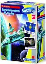 GALILEO Entdecke Sonnensystem & Erde by Clementoni ** Galaxy Mond Planeten