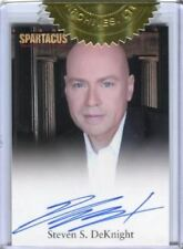 Spartacus Premium Packs Dealer Incentive Steven S. DeKnight Autograph Card