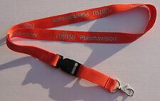 FUJITSU Plasma vision Ribbon Keychain Lanyard NEW (T275)