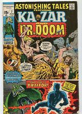 Astonishing Tales-Ka Zar And Dr. Doom #7 VG/FN  Man Called T'Challa SA