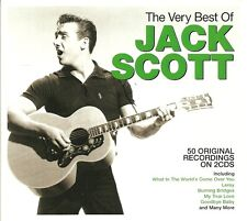 THE VERY BEST OF JACK SCOTT - 2 CD BOX SET, SAVE MY SOUL,LEROY & MORE
