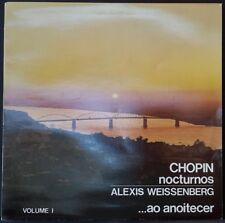 HMV 1103821 CHOPIN NOCTURNOS VOL. 1 WEISSENBERG SPANISH PRESS 1986