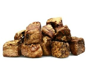 Beef Lung Cube 100% Naturally Air Dried Dog Training Treat Chew Low Fat/Protein