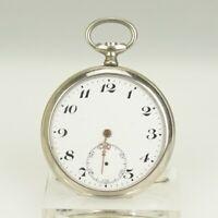 Rar! Antike Taschenuhr Herren Uhr Uhren no spindel chronometer armbanduhr duplex