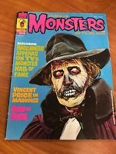 Famous Monsters of Filmland #109 Warren magazine 1974 VG/FN