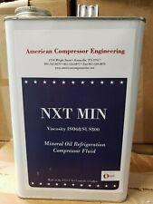Mineral oil Refrigeration Compressor Fluid Viscosity ISO68 / SUS300 1 gallon