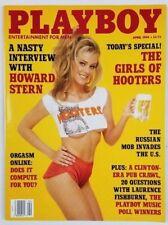 Playboy Magazine April 1994 - Marianne Gravatte - Becky De Los Santos - Hooters