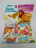 Disney Wonderful World of Reading Books 1990's Set of Four - Pre-owned
