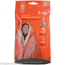 NEW Adventure Medical SOL Emergency Survival Space Blanket