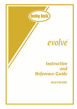 BABY LOCK Evolve BLE8W SERGER Instruction Manual & Bonus, on CD / PDF