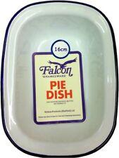 Falcon Enamel Oblong Pie Baking Dish Tin 16cm