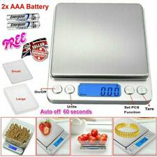 Digital Electronic Kitchen Scale Pocket Food Weight Scales Mini LCD 0.01g-500g