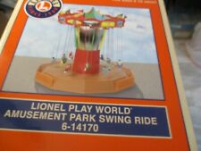 LIONEL 6-14170 ANIMATED AMUSEMENT PARK SWING RIDE with MUSIC F700 PJ