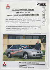 MITSUBISHI comunicato & PHOTO 1996-economici e allegri-postfree UK.