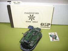=Mechwarrior SWORDSWORN Sgt. Gregory Lee 121 Condor Tank with dossier 21 =